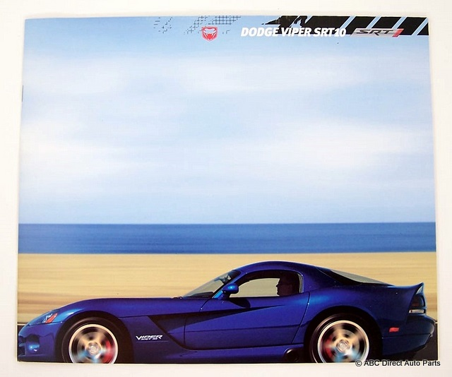 2006 Dodge Viper SRT-10 Dealer Sales Brochure