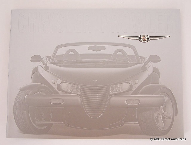 2002 Chrysler Prowler Deluxe Dealer Sales Brochure