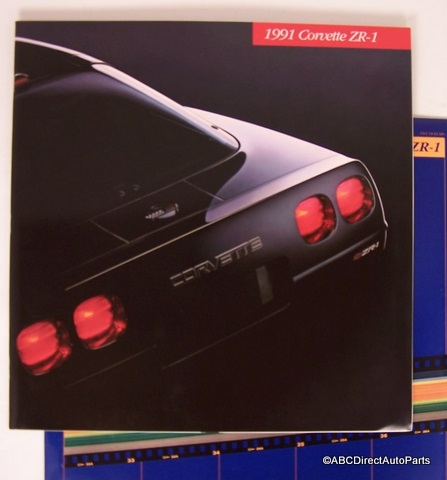 1991 Chevy Corvette ZR1 ZR-1 Dealer Sales Brochure