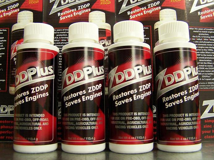 4 ZDDPlus ZDDP Engine Oil Additive - Save your Engine!