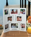 """""""Our Story"""" Multiple Opening Photo Frame - Table Top - Hinged Screen"""