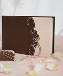 Romantic Vintage Western Traditional Guest Book