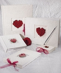 Flower of Love In Romantic Red Books