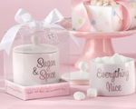 �Sugar, Spice and Everything Nice� Ceramic Sugar Bowl