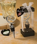 Vineyard Collection™ Swirl Design Wine Stoppers