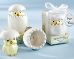�About to Hatch� Ceramic Baby Chick Salt & Pepper Shakers