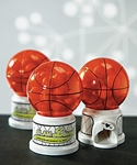 Basketball Theme Miniature Sports Gumball Machine
