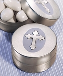 Silver Cross Mint Tins
