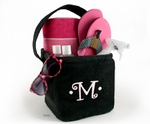 Monogrammed Spa Caddy - Terry Cloth
