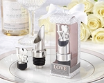 """LOVE"" Chrome Pourer/Bottle Stopper"