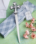 CROSS DESIGN LETTER FAVORS