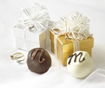 1pc Truffle With Gold Ring - (1.5oz.)