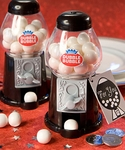 Dubble Bubble Gumball Machine - Black and White
