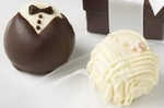 Bride & Groom Fudge Love� Truffles - 42pc (1.5oz)