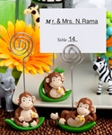 Charming Monkey Design Place Card Holder Favors