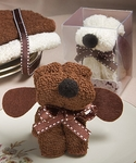 Puppy Dog Towel Favors