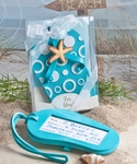 Beach Flip Flop Luggage Tag Favors