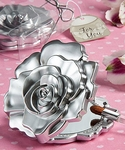 Romantic Rose Design Compact Mirror Favors