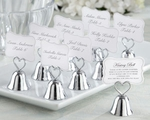 """Kissing Bell"" Place Card/Photo Holder (Set of 24)  - Out of stock 'til 4/29/11"