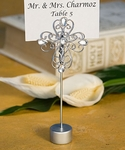 Decorative Cross Place Card Holder