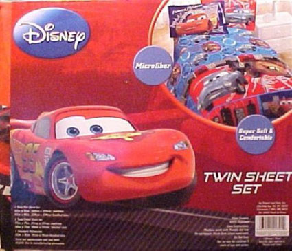 Out of stock Disney Cars 2 Twin Sheet Set