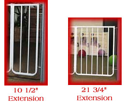 Baby Gate Extensions