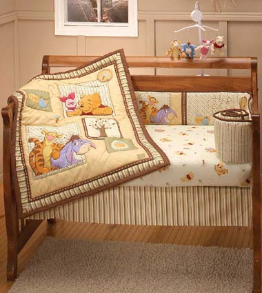 Out of stock Winnie The Pooh Dreams of Hunny 4 Piece Baby Crib Bedding Set
