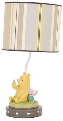 Classic Winnie The Pooh Lamp Base & Shade by Kidsline