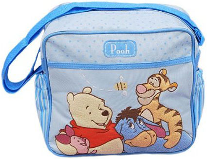 Out of Stock Winnie the Pooh Pooh Small Diaper Bag - Boys