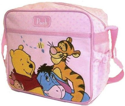 Winnie the Pooh Pooh Small Diaper Bag in Pink
