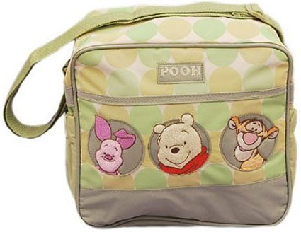 Out of Stock Winnie the Pooh Circles Small Diaper Bag