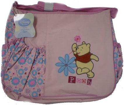 Out of Stock Winnie The Pooh Large Diaper Bag in Pink