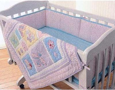 Out of Stock Mirabella 3 Piece Cradle Bedding Set by Kidsline