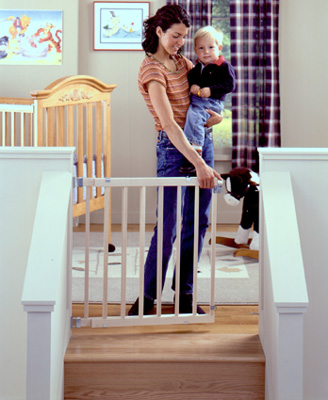 Stairway Swing Baby Safety Gate