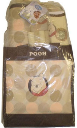 Out of Stock Winnie The Pooh Tote Bag Gift 9 Piece Set