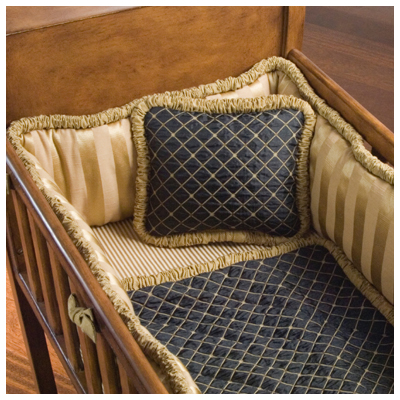 Churchill Cradle Bedding Set by Green Frog Art  Free Shipping