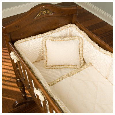 Aspine Cradle Bedding Set by Green Frog Art Free Shipping