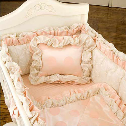 Nicole Cradle Bedding by Green Frog Art Free Shipping