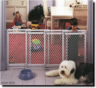 Supergate V Baby Pet Safety Gates For Super Wide Openings Ns 8649
