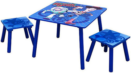 Disney Toy Story Table and Stools Set