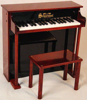 Traditional Deluxe Spinet Kids Piano by Schoenhut®