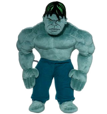 The Incredible Hulk Cuddle Pillow Baby Specials