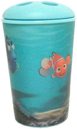 Finding nemo holographic toothbrush holder kids bath accessories - Finding nemo bathroom sets ...