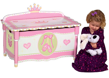 Swan Lake Girls Toy Box