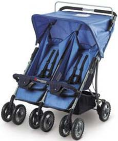 Duo-SS Double Side-by-Side Stroller by Foundations