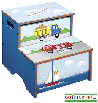Out of Stock Transportation Storage Step-Up Stool