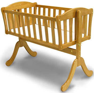 Euro Baby Cradle by Angel Line