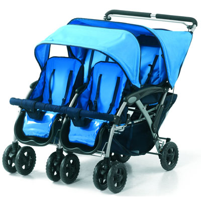 Quad Stroller 4 Passenger by Foundations
