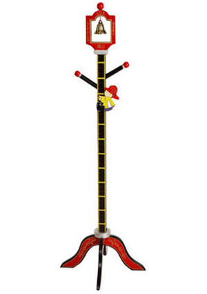 Firefighter Clothestand/Growth Chart Free Shipping