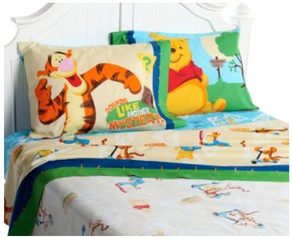 Out of stock Winnie the Pooh Twin Sheet Set - Sounds Like a Mystery